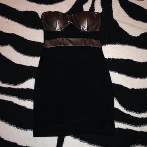Dresses & Skirts - ⛔️SOLD⛔️ Little Black & Metalic Dress