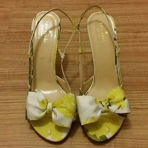 Kate Spade Bow Sling backs