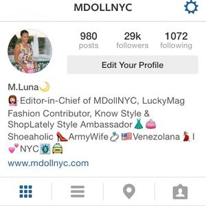 Other - FOLLOW ME ON INSTAGRAM @MDOLLNYC Thank You