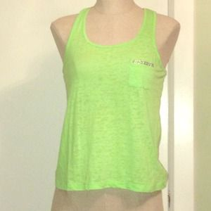 Forever 21 Tops - Neon green summer top