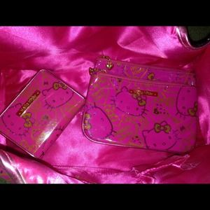 3- set Hello Kitty Glitter Bag