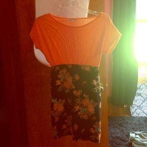 Bodycon floral dress 👗💄🌸