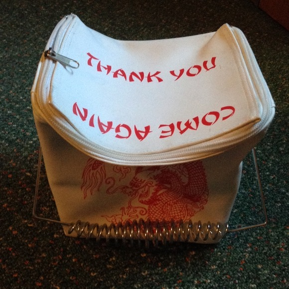 Chinese Take Out Purse Lunch Box Os From Alex S Closet On