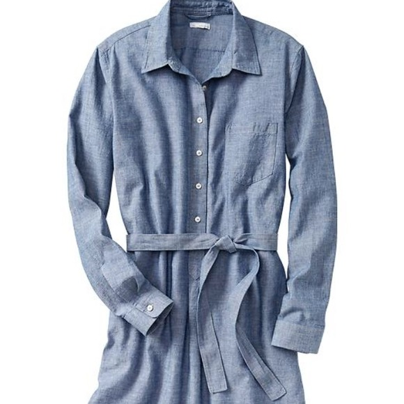 GAP Dresses - Chambray shirt dress