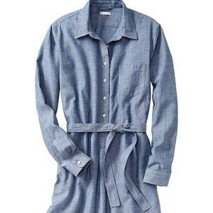 GAP Dresses - Chambray shirt dress