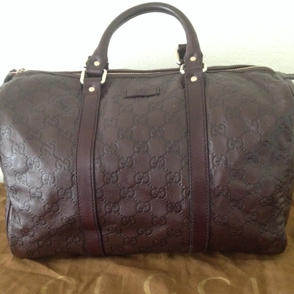 015d0b7ae Gucci Handbags - GUCCI JOY MEDIUM BAG - GUCCISSIMA BROWN LEATHER