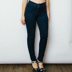 American Apparel Denim - Dark Wash Easy Jean