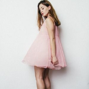 Dresses & Skirts - Sheer Babydoll Dress