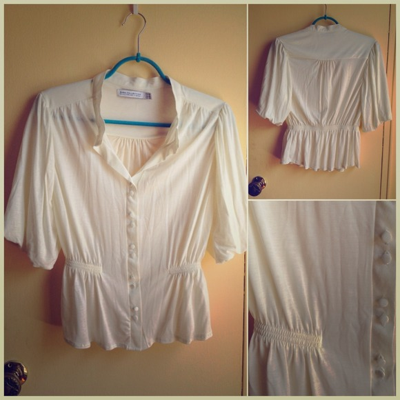 Collection rayon knit top tulip sleeves from jo s closet on poshmark