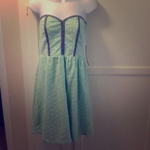Dresses & Skirts - Pistachio tube top dress