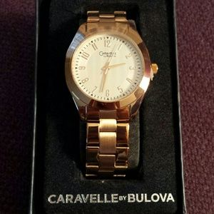 Accessories - Caravelle by Bulova rose gold women's watch
