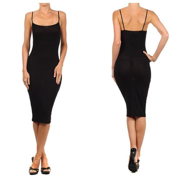 Dresses Knee Length Tight Black Dress Bodycon Dress Poshmark