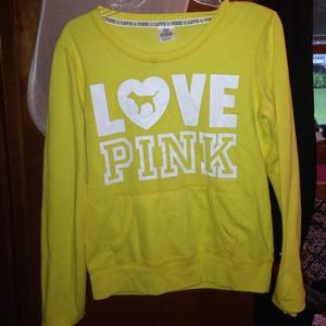 Yellow pullover from Victoria's Secret 💛