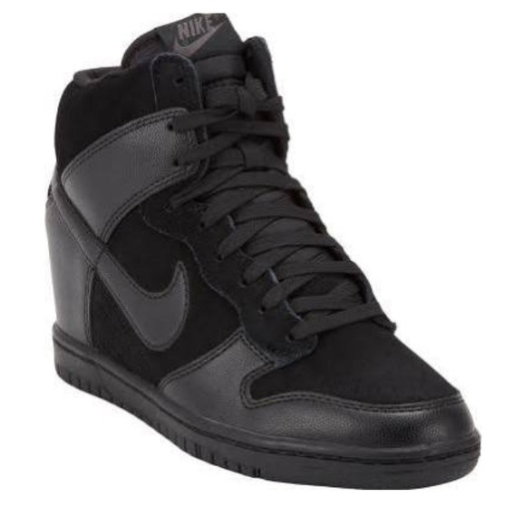 Nike Shoes | Nike Dunk Sky Hi Black