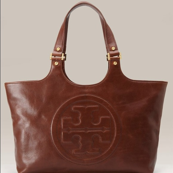 ... Glazed Leather Tote. M 539fd8b40fb6cd7e683247dc