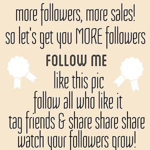 Want more followers?? Tag your friends!!