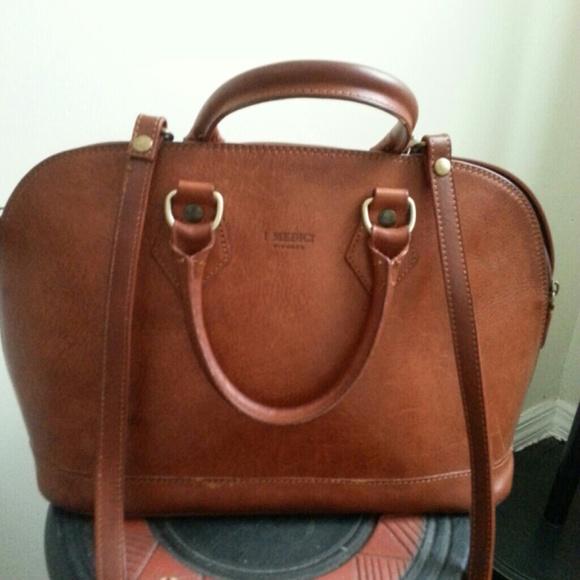 444cbcbe22c8 I Medici Handbags - Cognac I MEDICI Leather Handbag