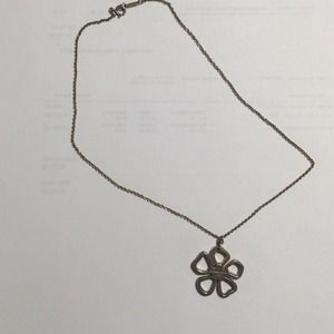 Tiffany & Co. Accessories - Tiffany & Co flower necklace.