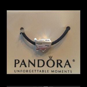 Pandora Jewelry New Usa National Icon Charm Authentic Poshmark