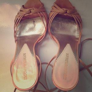 Emporio Armani size 37 (7 US) sandals