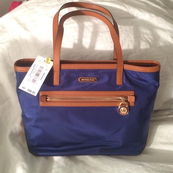 34% off Michael Kors Handbags - SOLD ❌ Navy blue Michael Kors ...