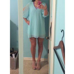 Lulu's light blue dress