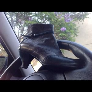 DAVOS Gomma KING Ankle Bootie Italian Leather 37