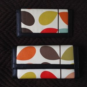 Clutches & Wallets - Wallet and checkbook holder
