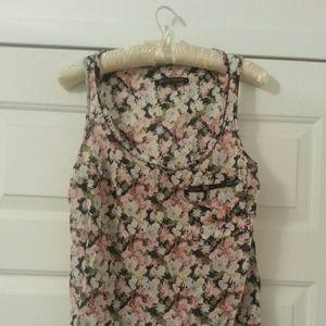 Zara Floral Tank Top