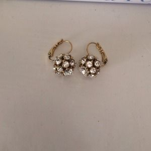 kate spade Accessories - Kate Spade crystal ball earrings