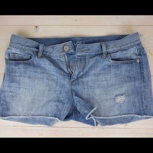 "LOFT Jeans - LOFT Denim Cut Off Shorts With 3"" Inseam"
