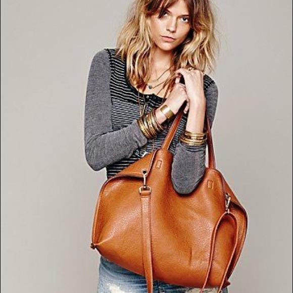 41% off Free People Handbags - Free People Reversible Leather Tote ...