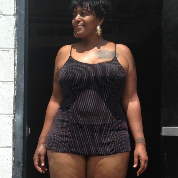 Jackets Coats Retro Polka Dot A Skirt Plus Size Bathing Suit