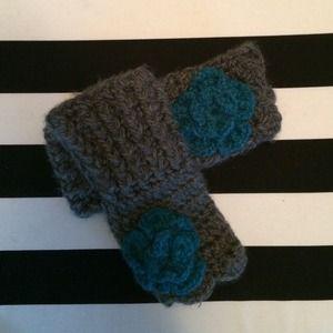 Accessories - Handmade Knitted Fingerless Gloves