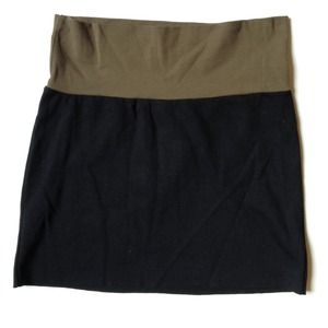 American Apparel Dresses & Skirts - American Apparel Color Block Bodycon Mini Skirt