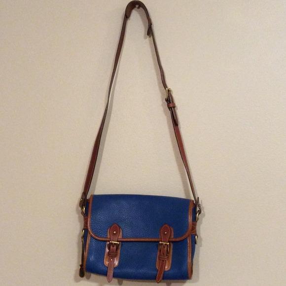 7757840202 Dooney   Bourke Handbags - Blue vintage Dooney   Bourke shoulder bag
