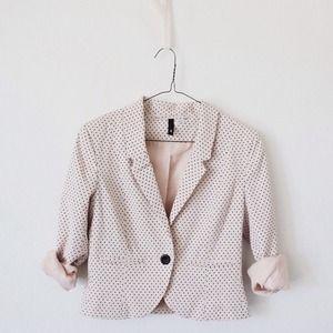 H&M Jackets & Blazers - Cropped Blazer