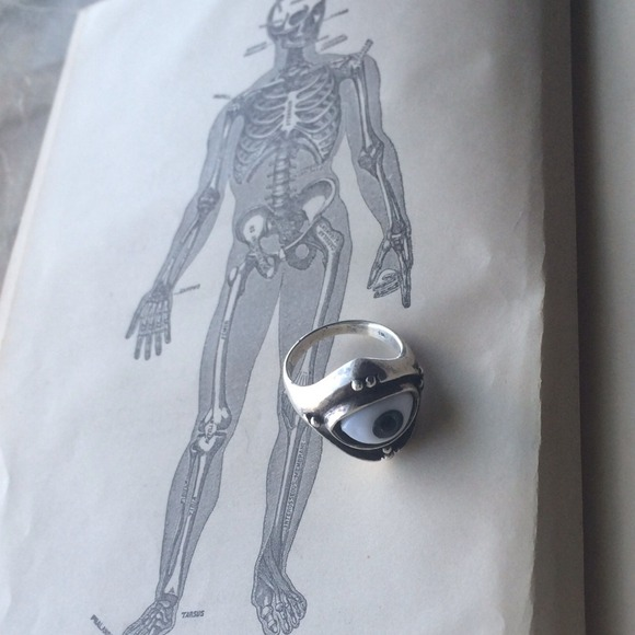 82 vintage jewelry vintage sterling silver eyeball