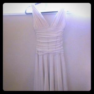 Eggshell goddess dress