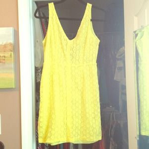 Zara yellow dress or cover up
