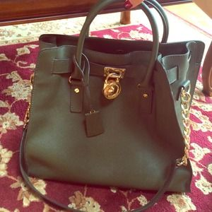 Pre owned Michael Kors Loden Tote bag
