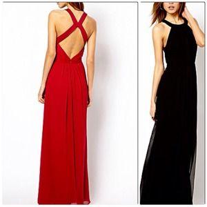 Dresses & Skirts - CLOSET CLEAR OUT SALE! Criss-Cross Back Maxi Dress