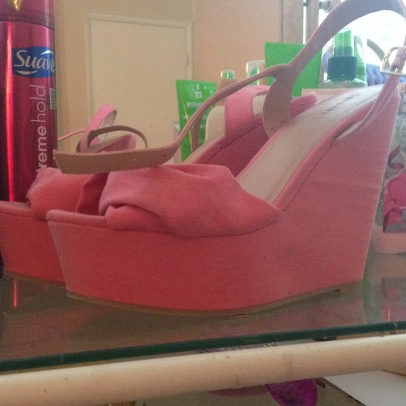 Salmon Colored Wedding Shoes
