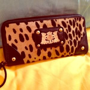 Juicy Couture Leopard Wallet!