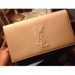 Still Available Host Pick  YSL NUDE CLUTCH