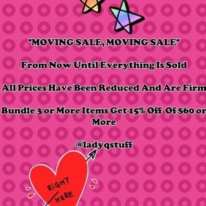 MOVING SALE...MOVING SALE......
