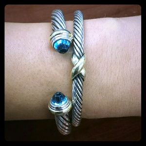 David Yurman bracelets and ring