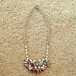 Ann Taylor sparkly statement necklace.