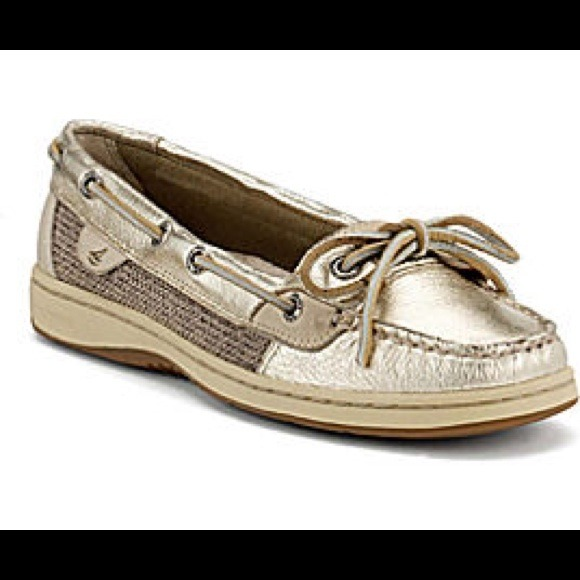Sperry Shoes   Angelfish Rosegold S