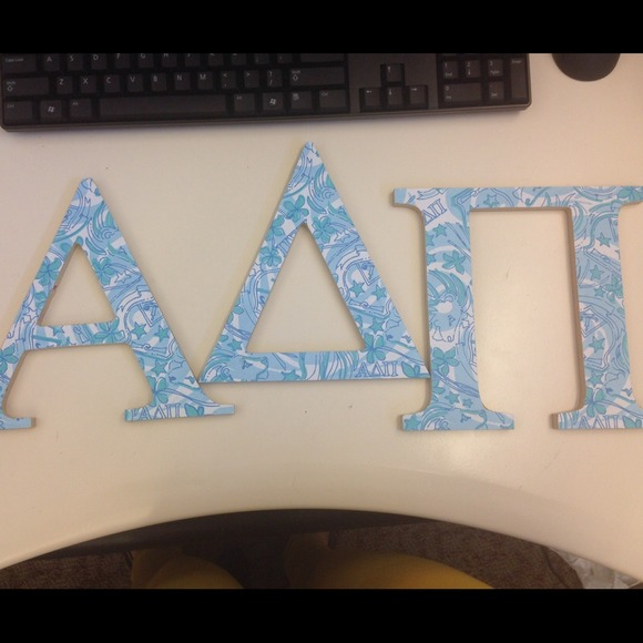 Reserved Alpha Delta Pi Letters In αδπ Lilly